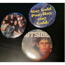 The Outsiders Badges - Set of 3